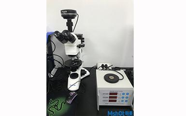 明美偏光显微镜应用要湖北理工学院晶体检测