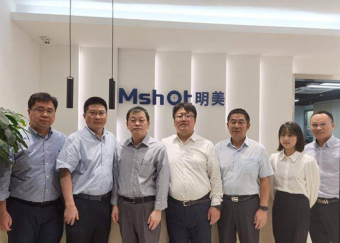 奥林巴斯科学事业部领导来访广州明美