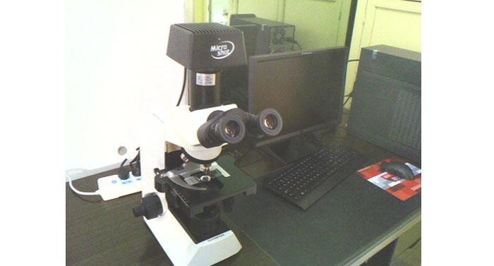 显微镜摄像头MC55 用于延安市人民医院药材观察