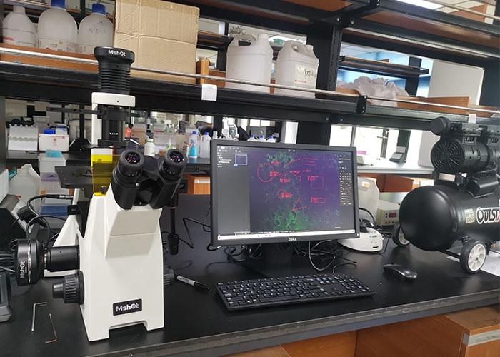 【客户见证】明美倒置荧光显微镜走进四川大学