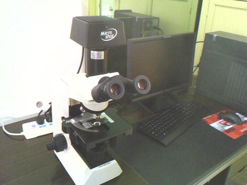 显微镜摄像头MC55 用于延安市人民医院药材观察1.jpg