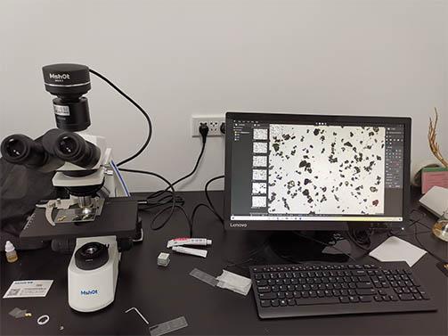明美偏光显微镜助力药厂对中药材进行鉴别