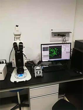 明美荧光模块用于中国科学院植物研究所
