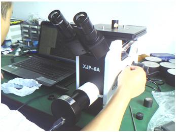 明美显微镜摄像头在国产金相显微镜下表现出色.jpg